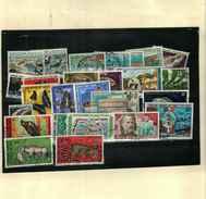 Afars Et Issas (1967-1977) >lot De 26  Oblitérés Entre Les N°  329 & 438  + PA Entre Les N° 61 & 81 Cote:+76€ - Used Stamps