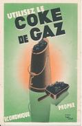 BUVARD - Utilisez Le COKE De GAZ - Electricity & Gas