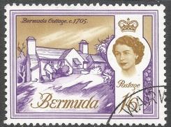 Bermuda. 1962-68 QEII. 1/6 Used. Upright Block CA W/M SG 173 - Bermuda