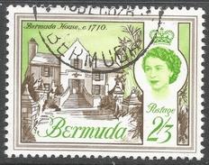 Bermuda. 1962-68 QEII. 2/3 Used. Upright Block CA W/M SG 175 - Bermuda