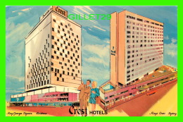 SYDNEY,  AUSTRALIA - CREST HOTELS - ANIMATED - - Australie