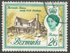 Bermuda. 1962-68 QEII. 2/6 Used. Upright Block CA W/M SG 176 - Bermuda
