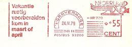 NL Front Firmcover Meter ANWB Vakantie Rustig Voorbereiden Kom In Maart Of April  's-Gravenhage 24/4/1979 - Vakantie & Toerisme