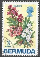 Bermuda. 1970 Flowers, 3c Used. SG 251 - Bermuda