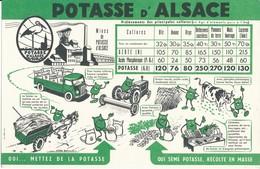 BUVARD - La POTASSE D'ALSACE - Agriculture