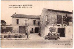 CPA. HERAULT.CASTELNAU-LE-LEZ.ETABLISSEMENTS E.GOUNELLE - Castelnau Le Lez