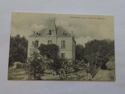 C.P.A. 42 NOIRETABLE : Villa De La Condamine,  Timbre 1906 - Noiretable