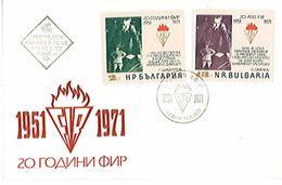 ENVELOPPE - BULGARIE- 20ème Anniversaire Fédération Internationale Des Résistants - Très Très Rare - Altre Collezioni