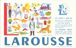 BUVARD - Librairie, Dictionnaires LAROUSSE, Lettre L - Blotters
