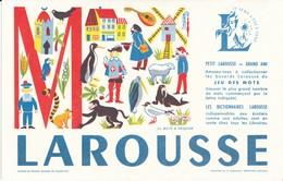 BUVARD - Librairie, Dictionnaires LAROUSSE, Lettre M - Blotters
