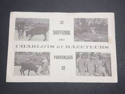 FRANCE - Carte Postale - Souvenir Des Charlots Et Razeteurs Provençaux - L 10217 - Corrida