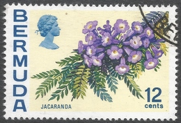 Bermuda. 1970 Flowers, 12c Used. SG 257 - Bermuda