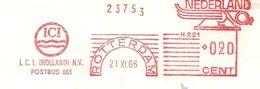NL Firmcover Meter I.C.I. Holland Rotterdam 21/11/1966 Ship - Boten