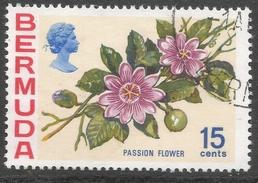 Bermuda. 1970 Flowers, 15c Used. SG 258 - Bermuda