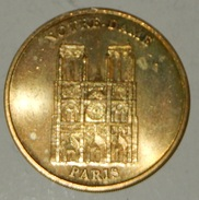 NOTRE DAME PARIS – GETTONE – COLLECION NATIONALE – MONNAIE DE PARIS – MEDAILLE OFFICIELLE – LIMITED EDITION - (81) - Monnaie De Paris