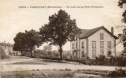 CPA - PASSAVANT (70) - Aspect Du Quartier De La Côte-Française En 1930 - Autres Communes