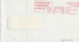 NL Front Firmcover Meter SHELL Biedt Meer Dan U Denkt, Rotterdam 29/3/1973 - Aardolie