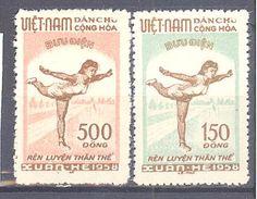 Viet Nam Du Nord: Yvert 135/136(*); Cote 44.00€ - Viêt-Nam