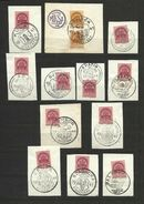 "Hungari 1941  Special Occasion Stamps Of The Cities Of  ""Visszatert"" - Banat-Bacska"