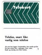 NORWEGEN N-5 150 Grün Telefonkarte___Chip SC-6___Norge Norway Norvège - Norvège