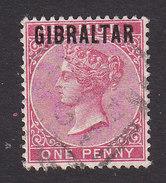 Gibraltar, Scott #2, Used, Victoria Overprinted, Issued 1886 - Gibraltar