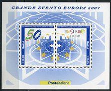 Lot 246 - B 19 - Italie** Bloc N° 42 - Cinquant. Du Traité De Rome - Année 2007 - Europa-CEPT