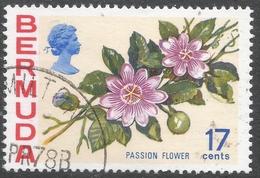 Bermuda. 1970 Flowers, 17c Used. SG 258a - Bermuda