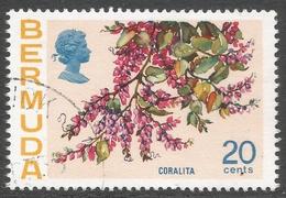 Bermuda. 1970 Flowers, 20c Used. SG 259a - Bermuda