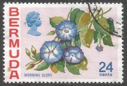 Bermuda. 1970 Flowers, 24c Used. SG 260 - Bermuda