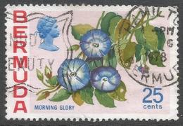 Bermuda. 1970 Flowers, 25c Used. SG 260a - Bermuda