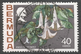 Bermuda. 1970 Flowers, 40c Used. SG 262a - Bermuda