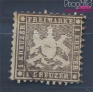 Württemberg 21 Beau (b-Qualité) Oblitéré 1862 Crest (8496994 (8496994 - Wurttemberg