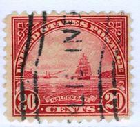 STATI UNITI D'AMERICA, USA, UNITED STATES, PANORAMI, LANDSCAPES, NAVI, 1923, USATI,  Yvert Tellier 242A   Scott 567 - Used Stamps