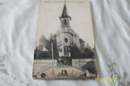 Cpa:MONTIGNY- Sur-VINGEANNE L'Eglise (piée Au Milieu(voir Scan) - Francia