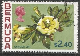 Bermuda. 1970 Flowers, $2.40 Used. SG 265 - Bermuda