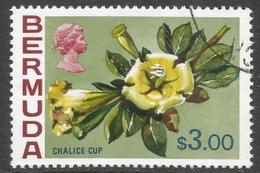 Bermuda. 1970 Flowers, $3 Used. SG 265a - Bermuda
