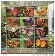 2014 DOMINICAN REPUBLIC - Butterflies - Farfalle