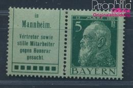 Bavière W1.52 Un Neuf Avec Gomme Originale 1911 Prince Regent Luitpold (8584703 (8584703 - Beieren