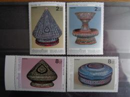 THAILLANDE MICHEL   N° 1358 à 1361  **  - OBJETS DE CEREMONIES - Thailand
