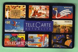 F273 Telecarte Actualite *** SO2 *** TTBE *** (A7-P1) - 1992