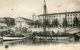 NICE(BATEAU VOILIER) - Transport Maritime - Port