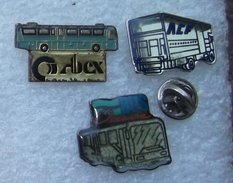 AUTOCARS 3 PIN'S BUS OCEANE ACF ABEX      CCCC    087 - Transports