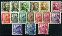 1605- España Nº 1020/32. - 1931-Today: 2nd Rep - ... Juan Carlos I
