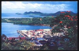 Saint Lucia. Edt. Pan American World Airways. Nueva. - Vierges (Iles), Britann.