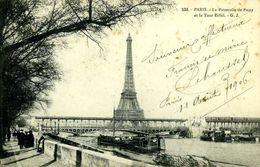 Paris : La Tour Eiffel Et La Passerelle De Passy - Tour Eiffel