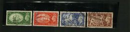 GB – GVI – 1951 - HIGH VALUES - USED - 4 Stamps - Used Stamps