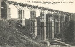 22 St BRIEUC  Viaduc De Toupin 1906 - Saint-Brieuc