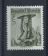 """Autriche N°900A** (MNH) 1958/59 - Costumes Régionaux """"Styrie, Sulmtal"""" - 1945-.... 2ème République"""