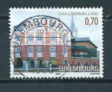 2007 Luxemburg Culture Used/gebruikt/oblitere - Luxemburg