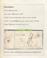 LETTRE DE 1830 FRANCE CARPENTRAS BRUXELLES BRUSSEL TAXE NOUVEME - 1801-1848: Voorlopers XIX